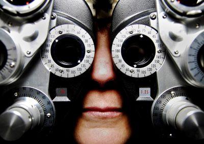 Sehschärfeprüfung, Brillenanpassung, Kontaktlinsenanpassung