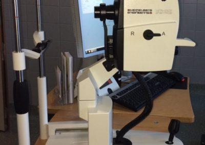 optische Cohärenz Tomographie (OCT)